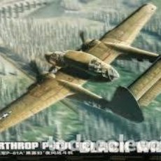 Maquetas: GREAT WAL HOBBY - NORTHROP P-61A BLACK WIDOW L4802 1/48. Lote 118114203