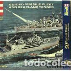 Maquetas: REVELL - 3 MODELOS EN LA CAJA U.S.S. CURRITUCK,NAUTILUS Y BOSTON G-333 495 . Lote 118505123