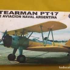 Maquetas: STEARMAN PT-17 AVIACIÓN NAVAL ARGENTINA 1:72 SUR MODEL MAQUETA AVIÓN. Lote 118558640