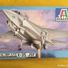 Maquetas: X-35 JSF 1:72 ITALERI 1209 MAQUETA AVION. Lote 118708786