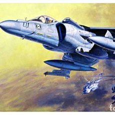 Maquettes: MAQUETA 1/48 - AV-8B HARRIER II PLUS HASEGAWA - NR. 07228 - 1:48. Lote 118794911