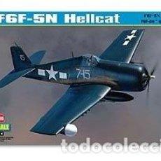 Maquetas: MAQUETA 1/48 - GRUMMAN F6F-5N HELLCAT HOBBY BOSS - NR. 80341 - 1:48. Lote 118795407