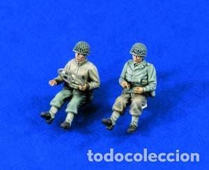 U.S. WWII TRUCK DRIVERS 1:35 VERLINDEN 1327 MAQUETA FIGURA CARRO DIORAMA (Juguetes - Modelismo y Radiocontrol - Maquetas - Militar)