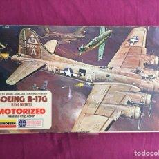 Maquetas: BOEING B-17G FLYING FORTRESS 1:64 LINDBERG 2508M MAQUETA AVIÓN MOTOR ELÉCTRICO. Lote 119270151