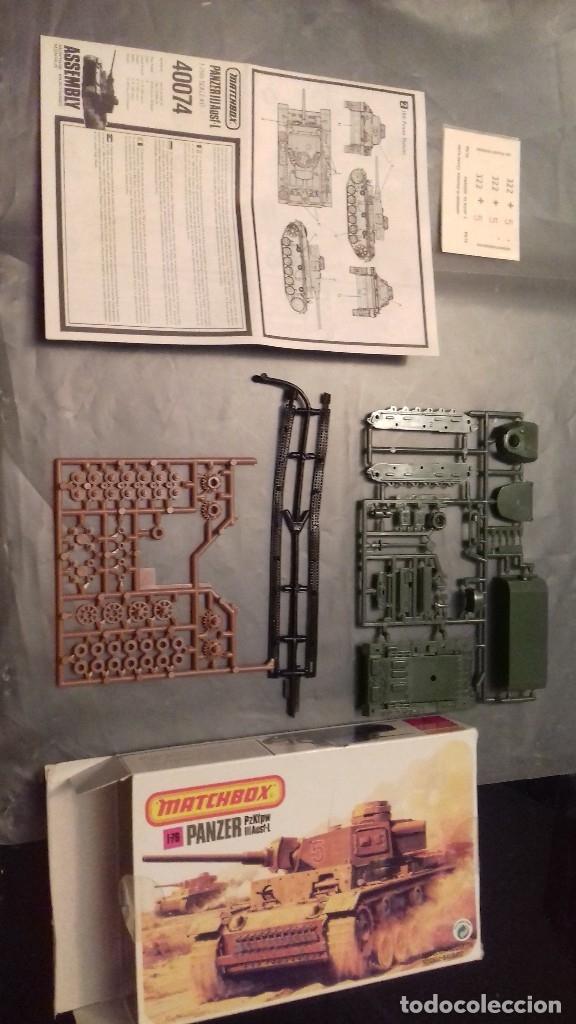 Maquetas: MATCHBOX MAQUETA DE 1/76,HUMBER MKII,PANZER, A ESTRENAR Y TANQUE RUSO T-34 - Foto 3 - 120377422