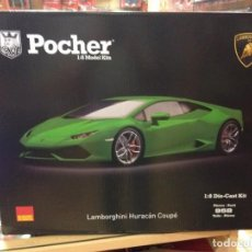 Maquetas: KIT LAMBORGHINI HURACAN COUPE 1:8 POCHER HK109 NUEVA VERSION 2018. Lote 155232034