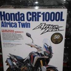 Maquetas: HONDA CRF1000L AFRICA TWIN 1:6 TAMIYA EDICION ESPECIAL 50 ANIVERSARIO. Lote 120241247