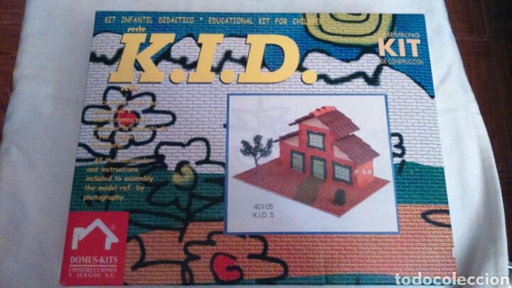 KIT CASA INFANTIL K.I.D. DE DOMUS-KITS MAQUETA REF.40105 (SIN USO) (Juguetes - Modelismo y Radiocontrol - Maquetas - Construcciones)