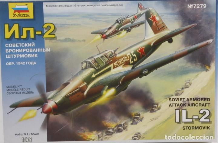 MAQUETA AVIÓN ILYUSHIN IL-2 STORMOVIK, REF. 7279, 1/72, ZVEZDA (Juguetes - Modelismo y Radio Control - Maquetas - Aviones y Helicópteros)