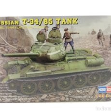 Maquetas: HOBBY BOSS TANQUE RUSO 1944 RUSSIAN TANK T-34/85 MAQUETA ESCALA 1/48 NUEVO.. Lote 120930618