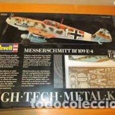 Maquetas: REVELL - MESSERSCHMITT BF 109 E-4 8900 1/48. Lote 120972255