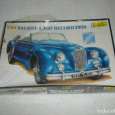 Maquetas: HELLER ESCALA 1/24 - TALBOT LAGO RECORD 1950 - MADE IN FRANCE. Lote 121051439