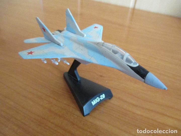 AVIONES EN COMBATE: MODELO EN METAL MODELO MIG-29 (Juguetes - Modelismo y Radio Control - Maquetas - Aviones y Helicópteros)
