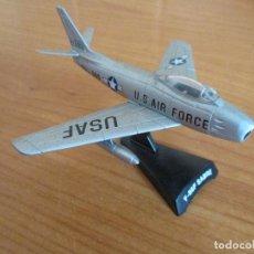 Maquetas: AVIONES EN COMBATE: MODELO EN METAL MODELO F-86 F SABRE. Lote 121378651
