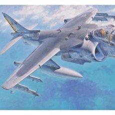 Maquetas: MCDONNELL DOUGLAS AV-8B HARRIER II PLUS (AVIACIÓN ESPAÑOLA) 1/72 HASEGAWA. Lote 121510523