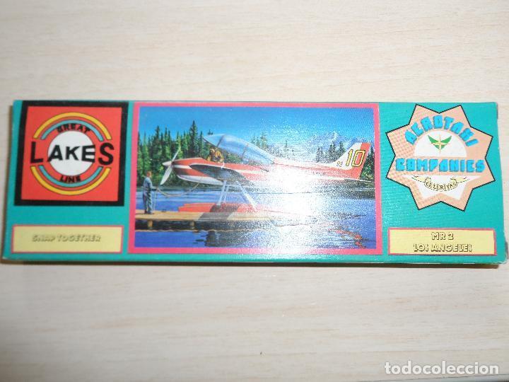 Maquetas: maqueta de avion aerotaxi companies celeritas MR 2 los angeles great lakes line snap años 70 - Foto 3 - 121545383