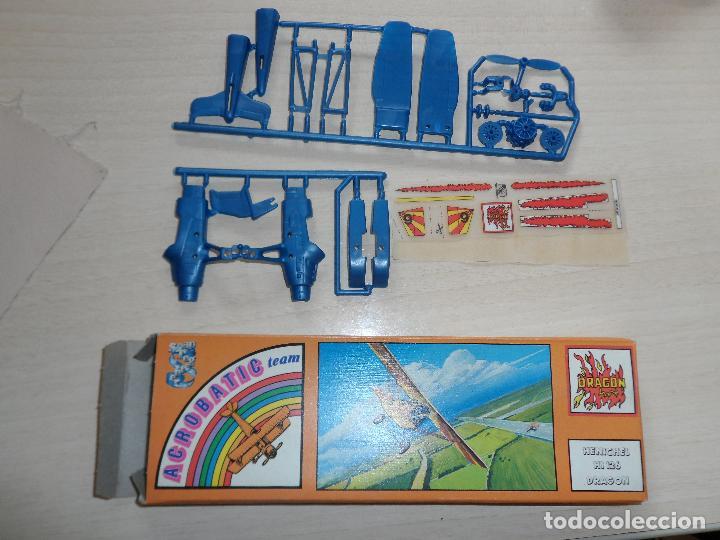 MAQUETA DE AVION HENSCHEL HS 126 DRAGON ACROBATIC TEAM GAMES COLLECTION AÑOS 70 (Juguetes - Modelismo y Radio Control - Maquetas - Aviones y Helicópteros)