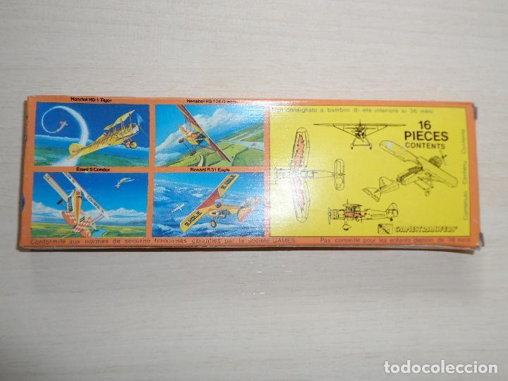 Maquetas: maqueta de avion henschel hs 126 dragon acrobatic team games collection años 70 - Foto 4 - 121545599