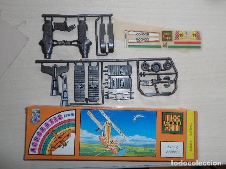 MAQUETA DE AVION SPAD S CONDOR ACROBATIC TEAM GAMES COLLECTION AÑOS 70 (Juguetes - Modelismo y Radio Control - Maquetas - Aviones y Helicópteros)