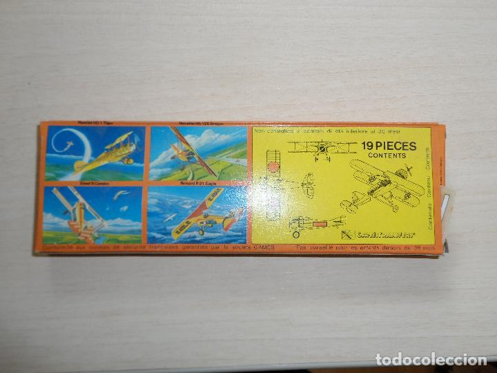 Maquetas: maqueta de avion spad s condor acrobatic team games collection años 70 - Foto 4 - 121545895