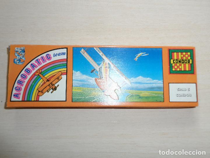 Maquetas: maqueta de avion spad s condor acrobatic team games collection años 70 - Foto 5 - 121545895