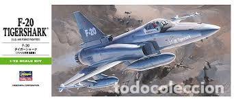 MAQUETA 1/72 - F-20 TIGERSHARK HASEGAWA - NR. 00233 - 1:72 (Juguetes - Modelismo y Radio Control - Maquetas - Aviones y Helicópteros)