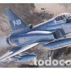 Maquetas: MAQUETA 1/72 - F-20 TIGERSHARK HASEGAWA - NR. 00233 - 1:72. Lote 121766731