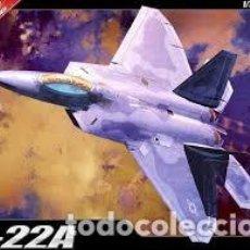 Maquetas: MAQUETA 1/72 - AIR DOMINANCE FIGHTER F-22A ACADEMY - NR. 12423 - 1:72. Lote 121768375