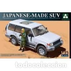 Maquetas: MAQUETA 1/35 - JAPANESE-MADE SUV (MITSUBISHI PAJERO) TAKOM - NR. 2007 - 1:35. Lote 121878943