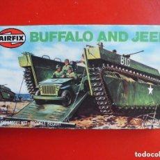 Maquetas: BUFFALO & JEEP. AIRFIX ESCALA 1/72. MODELO NUEVO. Lote 121940439