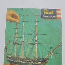 Maquetas: MAQUETA. REVELL TYPE S AUTHENTIC KIT. SCALED WITH HISTORIC ACCURACY. OLD IRONSIVES. VER FOTOS. Lote 121971279