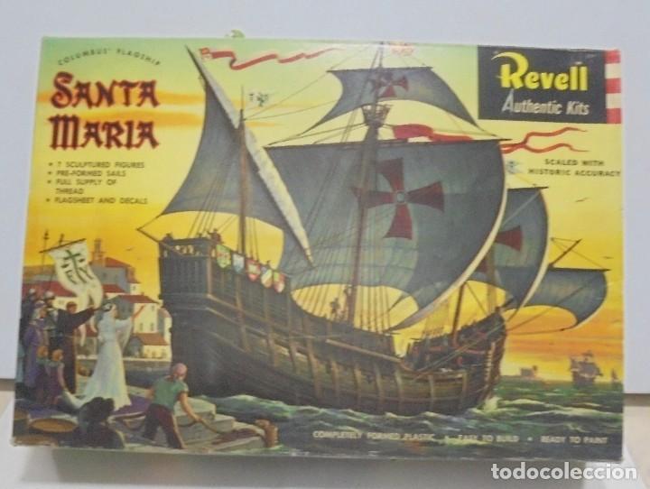 MAQUETA. REVELL AUTHENTIC KITS. SANTA MARIA. H-336. VER FOTOS (Juguetes - Modelismo y Radiocontrol - Maquetas - Otras Maquetas)