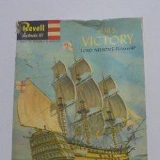 Maquetas: MAQUETA. REVELL AUTHENTIC KITS. H.M.S. VICTORY. H.363. VER FOTOS. Lote 121971739