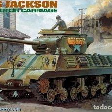 Maquetas: MAQUETA 1/35 - M-36 JACKSON GUN MOTOR CARRIAGE ACADEMY - NR. 1395 - 1:35. Lote 121989483