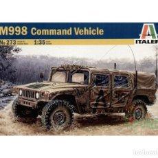 Maquetas: MAQUETA 1/35 - M998 - COMMAND VEHICLE ITALERI - NR. 273 - 1:35. Lote 121990111