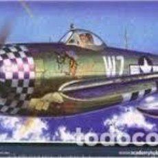 Maquetas: MAQUETA 1/72 - REPUBLIC P-47D THUNDERBOLT EILEEN ACADEMY - NR. 12474 - 1:72. Lote 121998383
