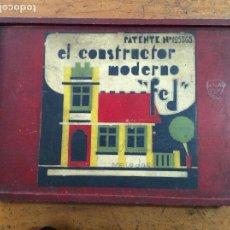 """Maquetas: EL CONSTRUCTOR MODERNO """" FED"""". Lote 122088471"""