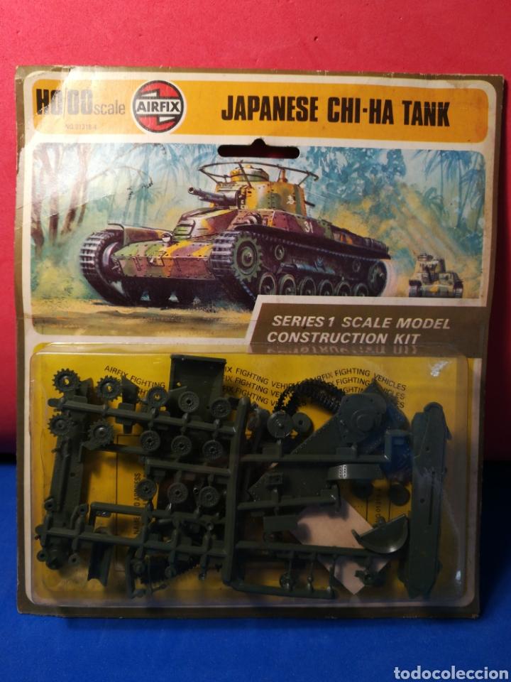 AIRFIX JAPANESE CHI-HA TANK EN BLISTER (Spielzeug - Modellbau und Funksteuerung - Modelle - Militär)