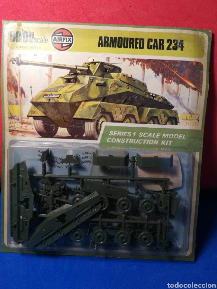 AIRFIX ARMOURED CAR 234 EN BLISTER (Spielzeug - Modellbau und Funksteuerung - Modelle - Militär)