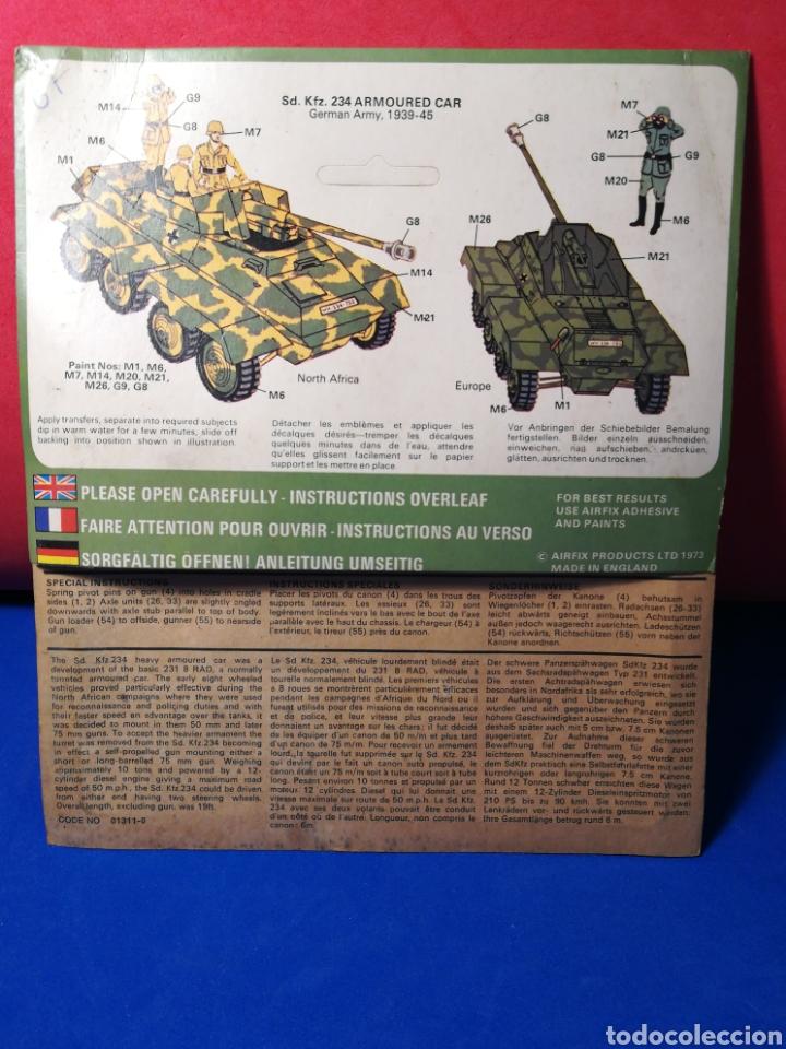 Modelle: Airfix Armoured Car 234 en blister - Foto 2 - 122527836