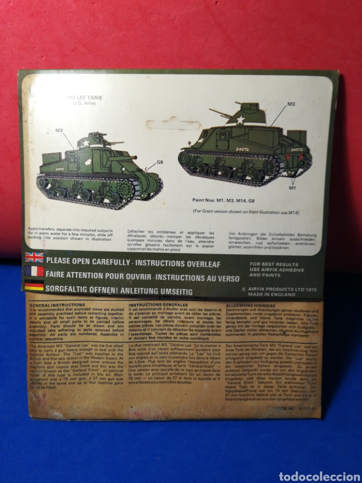Modelle: Airfix Lee/Grant Tanque U.S. Army en blister - Foto 2 - 122528264