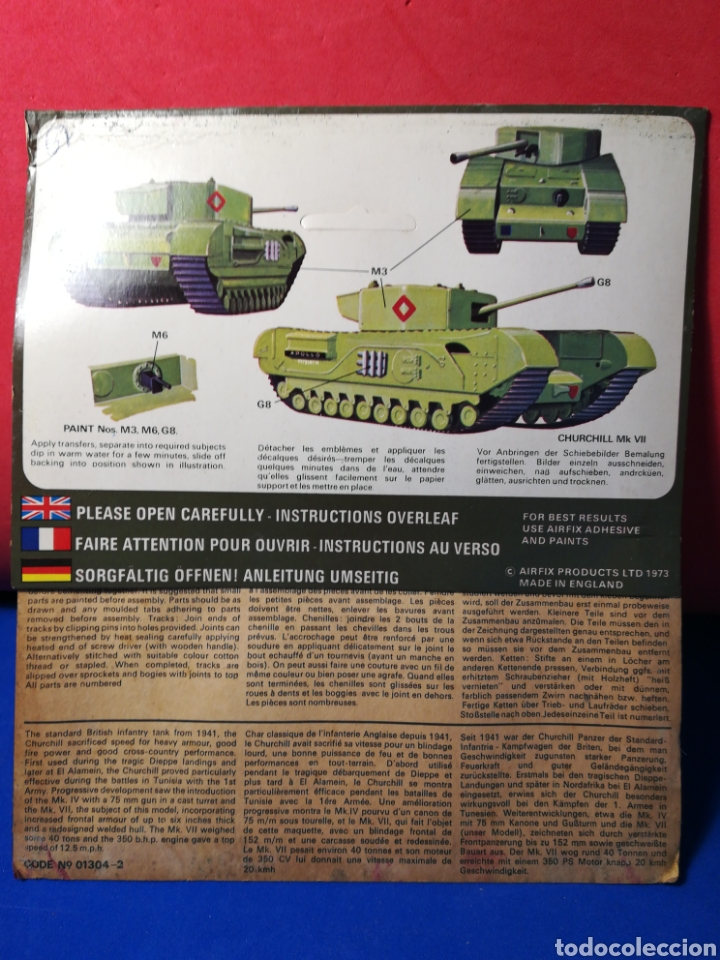 Modelle: Airfix Churchill Tank mk VII - Foto 2 - 122528698