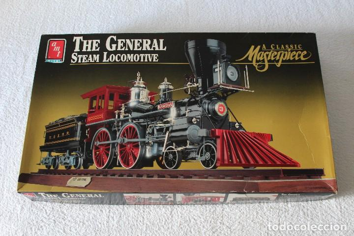 AMT ERTL. ESCALA 1/25: THE GENERAL STEAM LOCOMOTIVE, A CLASSIC MASTERPIECE - MADE IN USA 1992 (Juguetes - Modelismo y Radiocontrol - Maquetas - Otras Maquetas)
