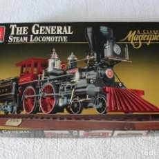 Maquetas: AMT ERTL. ESCALA 1/25: THE GENERAL STEAM LOCOMOTIVE, A CLASSIC MASTERPIECE - MADE IN USA 1992. Lote 122549855