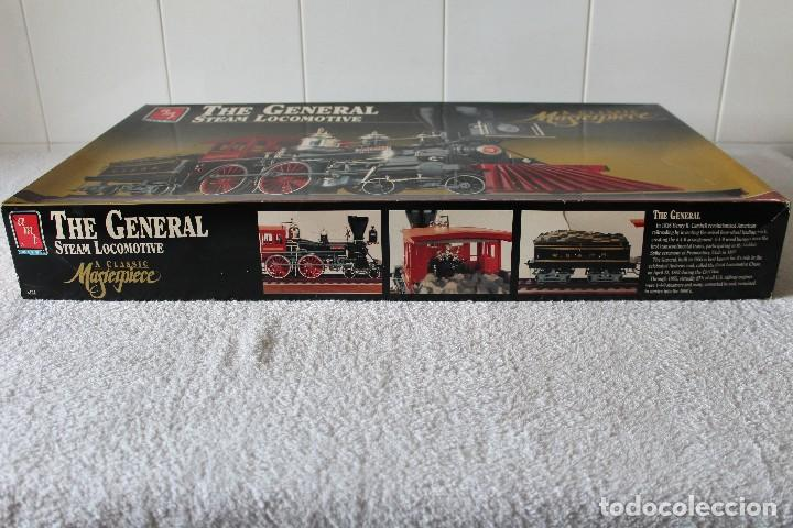 Maquetas: AMT ERTL. ESCALA 1/25: THE GENERAL STEAM LOCOMOTIVE, A CLASSIC MASTERPIECE - MADE IN USA 1992 - Foto 8 - 122549855