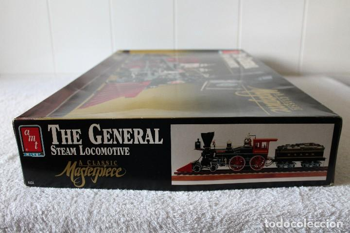 Maquetas: AMT ERTL. ESCALA 1/25: THE GENERAL STEAM LOCOMOTIVE, A CLASSIC MASTERPIECE - MADE IN USA 1992 - Foto 9 - 122549855