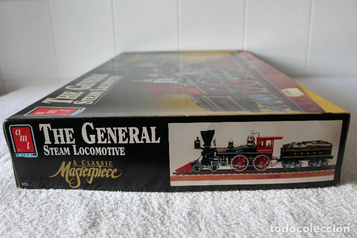 Maquetas: AMT ERTL. ESCALA 1/25: THE GENERAL STEAM LOCOMOTIVE, A CLASSIC MASTERPIECE - MADE IN USA 1992 - Foto 12 - 122549855
