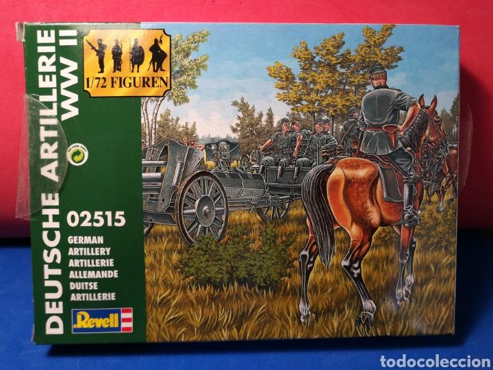 Modelle: Revell Artillería Alemana Segunda Guerra Mundial ref. 02515 15 soldaditos + caballos, armamento - Foto 3 - 122558538