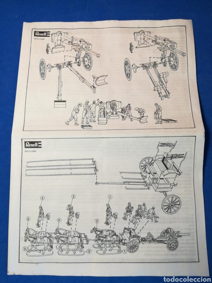 Modelle: Revell Artillería Alemana Segunda Guerra Mundial ref. 02515 15 soldaditos + caballos, armamento - Foto 5 - 122558538