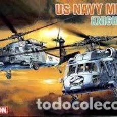 Maquetas: MAQUETA 1/144 - US NAVY MH-60S KNIGHTHAWK DRAGON - NR. 4605 - 1:144. Lote 122920135